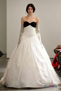 biała suknia ślubna Vera Wang