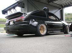 AE86 1986, not a huge fan of the squared off wheel arches.