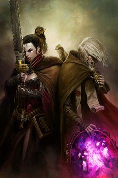 Dark Heresy Art 01 by *wraithdt on deviantART
