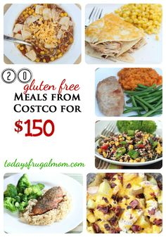 20 Gluten Free Meals From Costco For $150 {includes printable shopping list & recipes} :: Today's Frugal Mom