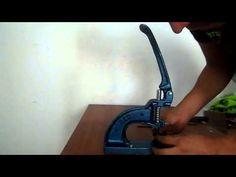 Tutorial para aplicar broches presión (corchetes) metálicos - YouTube