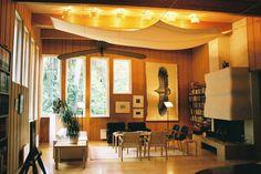 Villa Kokkonen Villa, Alvar Aalto, Valance Curtains, Table, House, Furniture, Finland, Masters, Design