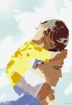 Happy Father's day. Pascal Campion Art.