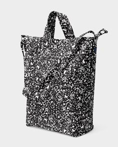Duck Bag - Black Static