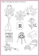 Disegni per bambini che iniziano con la r