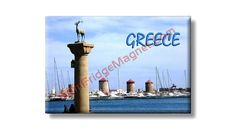 Fridge Magnet about Greece..