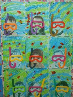 Mothers Day Crafts For Kids Discover Vorschule Foto basteln - kindergarten - Under The Sea Crafts, Under The Sea Theme, Kindergarten Art, Preschool Crafts, Beach Theme Preschool, Summer Preschool Themes, Ocean Activities, Ocean Crafts, Water Crafts