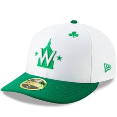 the latest 58323 9e1b7 Men s Washington Nationals New Era White Kelly Green 2019 St. Patrick s Day  On-Field Low Profile 59FIFTY Fitted Hat, Your Price   39.99