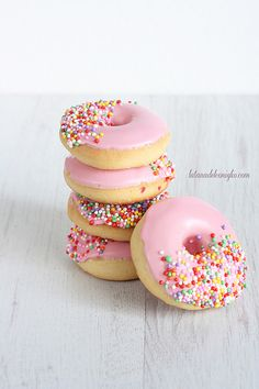 Gorgeous Baked Doughnuts