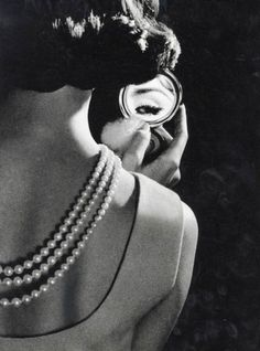 Eyelashes and Pearls