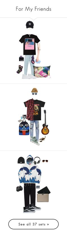 """For My Friends"" by kevin-whitcanack on Polyvore featuring STELLA McCARTNEY, Belstaff, Ray-Ban, adidas Originals, Fendi, Calvin Klein Underwear, Acne Studios, Vans, Y-3 and Urban Outfitters"