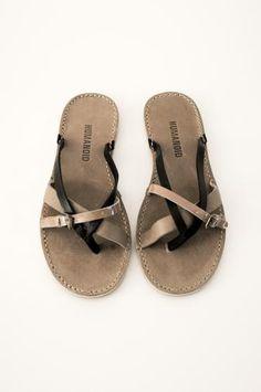 vrouwen echt leer bohemen pantoffels zomer platte sandalen