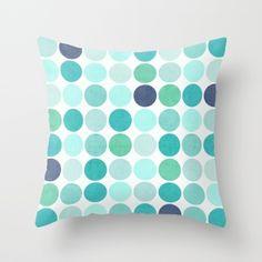 20 by 20 Maroon Blue Kess InHouse EBI Emporium Splash Revisited Throw Pillow