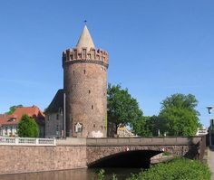 Steintorturm, one of the medieval gate towers of Brandenburg an der Havel