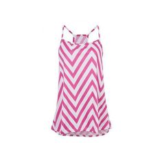 Women Wave Colorful O-neck Sleeveless Top ($6.79) ❤ liked on Polyvore featuring tops, sleeveless tops, pink top, pink sleeveless top, sleeveless tank and multi color tops