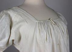 Linen Chamise 1810-1825