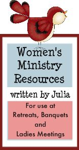 Ideas for women's ministry events.
