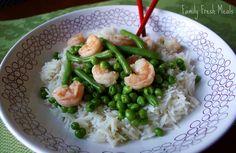 Coconut Basmati Rice & Shrimp - Family Fresh Meals