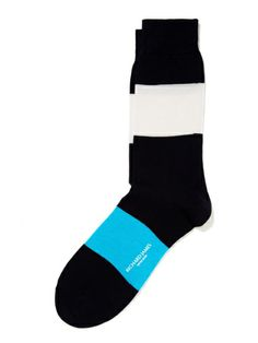 Bondi Cotton Socks by Richard James at Gilt