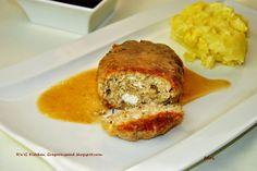 R'n'G Kitchen: Kotlety drobiowe z bulgurem i fetą