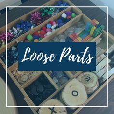 Find loads of inspiration for loose parts play in this board!