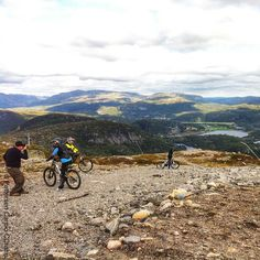Marvelous view from the top of Tjørmholmfjellet in #sirdal