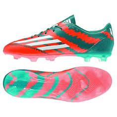 50f946307 adidas Lionel Messi 10.2 TRX FG Soccer Shoes (Power Teal)   SoccerEvolution