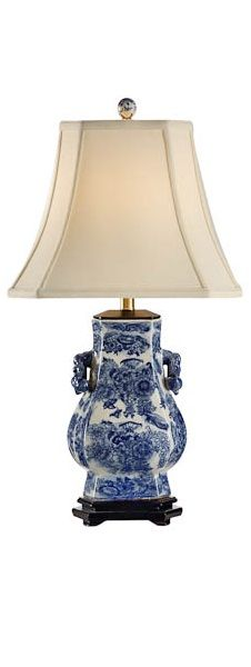 1000 Images About Blue And White Lamps On Pinterest