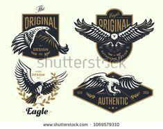 Soaring Eagle Bird Silhouette Decal Vinyl Sticker Car Van ...