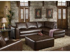Talsma Furniture Living Room Sectional with Chaise Lounge