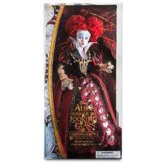 disney alice through the looking glass iracebeth the red queen doll new with box