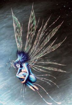 Explore the fantasy collection - the favourite images chosen by aelthwyn on DeviantArt. Magical Creatures, Fantasy Creatures, Chesire Cat, Kobold, Fairy Pictures, Blue Fairy, Mystique, Beautiful Fairies, Mythological Creatures