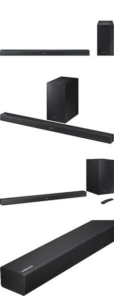 Home Speakers and Subwoofers: Samsung Hwm360 Black 2.1 Channel Sound Bar With Wireless Subwoofer - Hw-M360 Za -> BUY IT NOW ONLY: $129.04 on eBay!