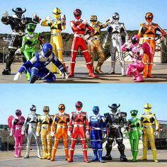 9 Ultimate Saviors with the power of constellations!  Uchu Sentai Kyuranger! #tokusatsu #kyuranger #supersentai40thanniversary