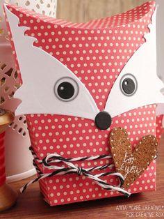 Sizzix Thinlits Die Set 6PK - Box, Owl & Fox
