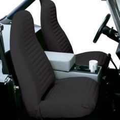 FH Group Pair Bucket Seat Covers Airbag Compatible By