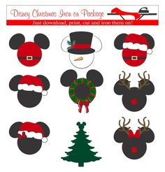 Hey, I found this really awesome Etsy listing at https://www.etsy.com/listing/250532393/disney-christmas-iron-on-transfers