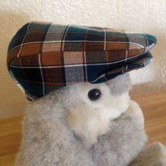 d432119b375 Infant size golf cap (newsboy cap) pattern pieces.