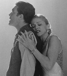 Still of Antonio Banderas and Madonna in ¨Evita¨