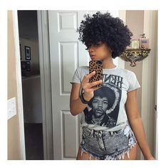 The fit the hair iluveit! Short Natural Curly Hair, Natural Hair Cuts, Natural Hair Styles, Short Hair Styles, Curly Short, Natural Curls, Pelo Natural, Coily Hair, Hair Affair