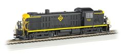 Bachmann HO Standard Line ALCO RS3 Diesel Locomotive, with Sound, Erie No. 932