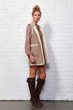 SASS - Shearling Vest
