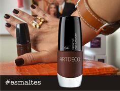 ArtDeco >> esmalte marrom >> http://opinobox.blogspot.com.br/2013/03/esmalte-marrom-chocolate-artdeco.html