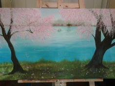 Brisa - Oleo sobre tela 100 x 60 cm