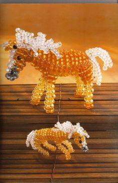 Лошадь из бисера - схема.. Комментарии : LiveInternet - Российский Сервис Онлайн-Дневников