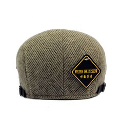 ac5ae8b4c64 Knitting Buckle Adjustable Paper Boy Newsboy Cabbie Gentleman Cap. Unisex  Cotton Knitted Beret Hat ...