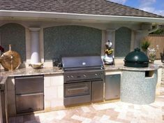 Small Outdoor Kitchen Ideas: Pictures
