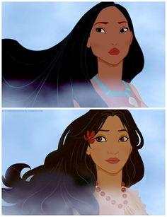 Découvrez à quoi ressembleraient les princesses Disney si elle appartenaient à une autre culture