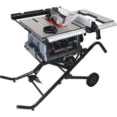 PORTER-CABLE PCB222TS 10-in 15 Amp Job Site Table Saw