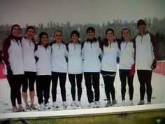 Midwestern State University  Cross Country team  in Wichita Falls  at Nationals